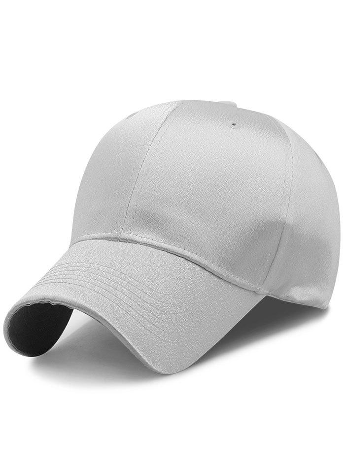 Fancy Simple Line Embroidery Shimmer Shine Baseball Cap