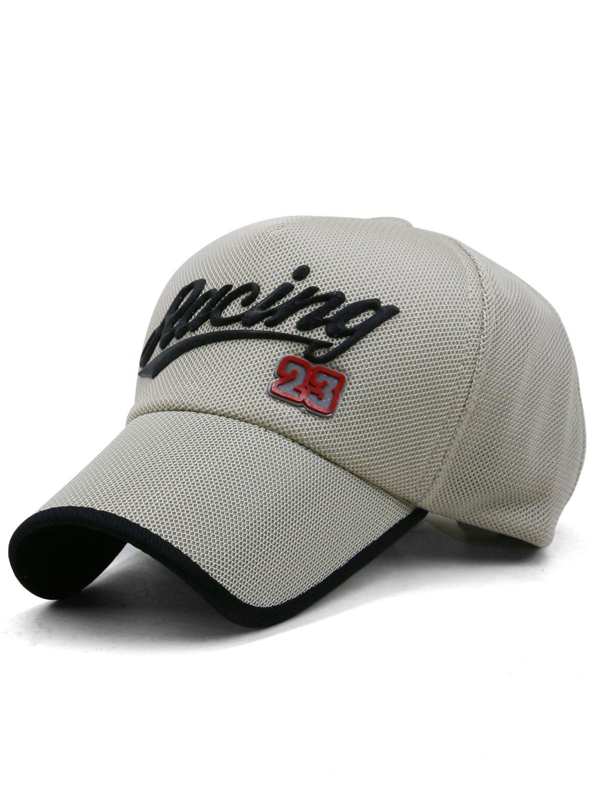 Store Racing Pattern Decorative Sunscreen Hat