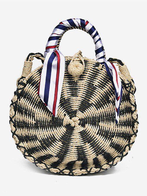 Shops Vintage Outdoor Trip Straw Handbag with Strap