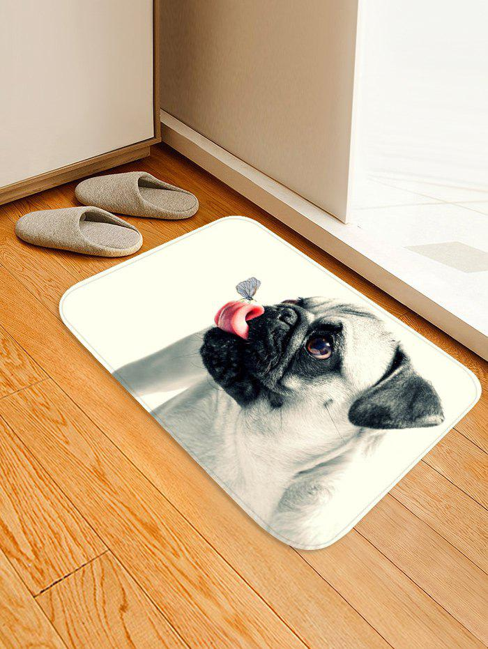 Outfits Butterfly on the Tongue of Dog Print Bath Floor Rug