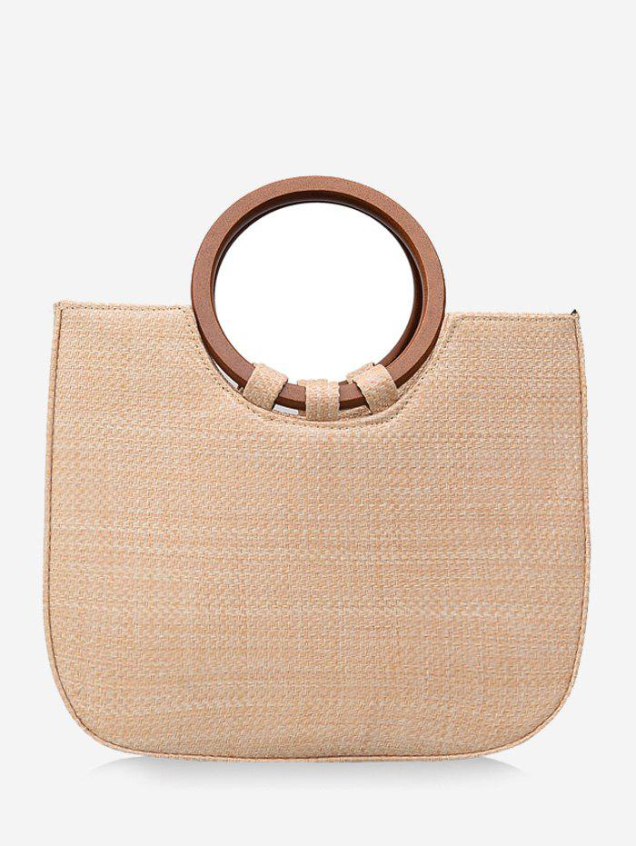 Unique Straw Outdoor Holiday Leisure Minimalist Tote Bag