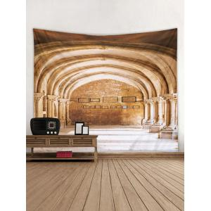 Church Arch Pattern Wall Tapestry Decoration -