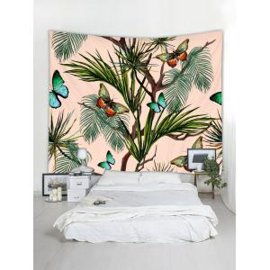 Butterfly Tree Pattern Tapestry Hanging Decor -