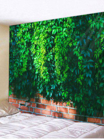 Store Vine Brick Wall Pattern Tapestry Decoration