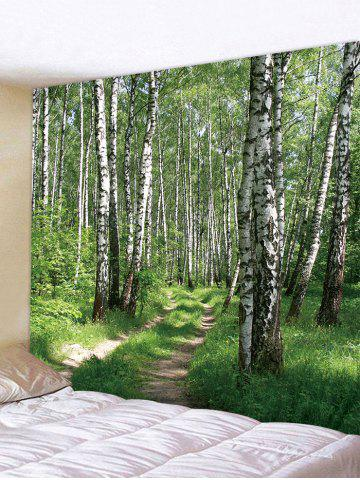 Shop Woods Pattern Wall Tapestry Decoration