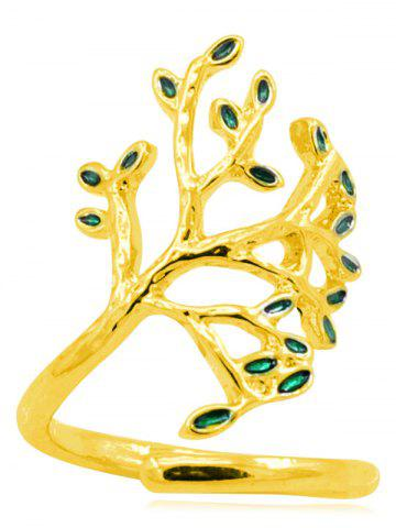 Affordable Tree of Life Alloy Cuff Ring