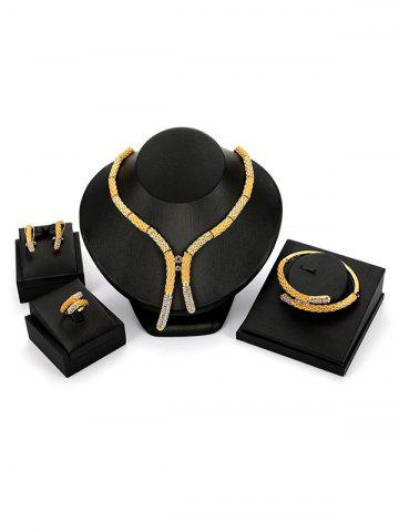 Store Bamboo Y Shape Bamboo Jewellery Set