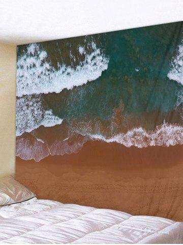 Latest Clay Seaside Pattern Wall Tapestry Decoration