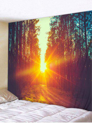 Outfits Sunset Forest Pattern Wall Tapestry Hanging Decor