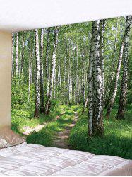 Woods Pattern Wall Tapestry Decoration -