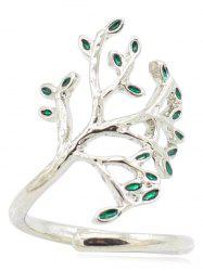 Tree of Life Alloy Cuff Ring -