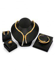 Bamboo Y Shape Bamboo Jewellery Set -