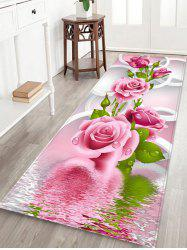 Flourishing Floral Pattern Indoor Outdoor Area Rug -