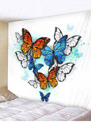 Butterfly Pattern Wall Tapestry Hanging Decor -