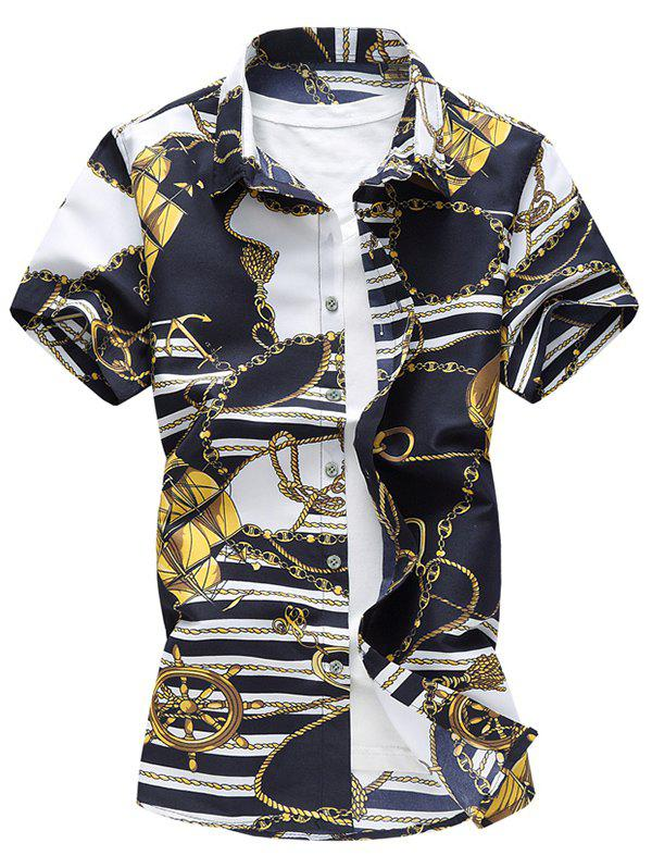 Buy Casual Link Chain Print Shirt