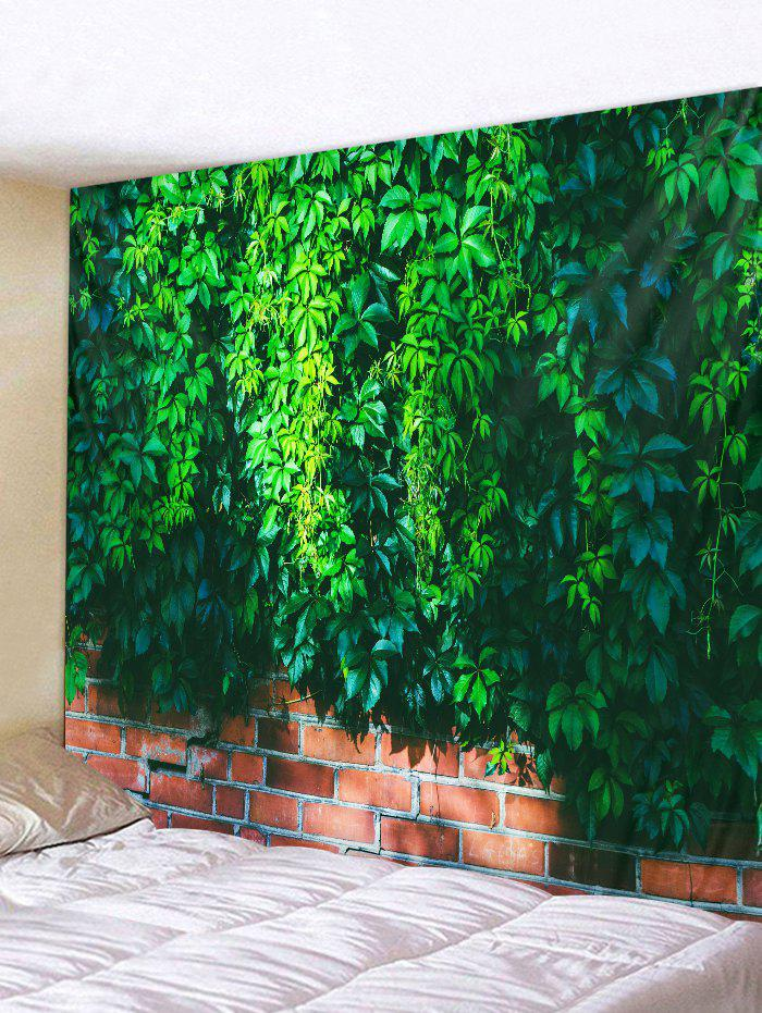 Chic Vine Brick Wall Pattern Tapestry Decoration