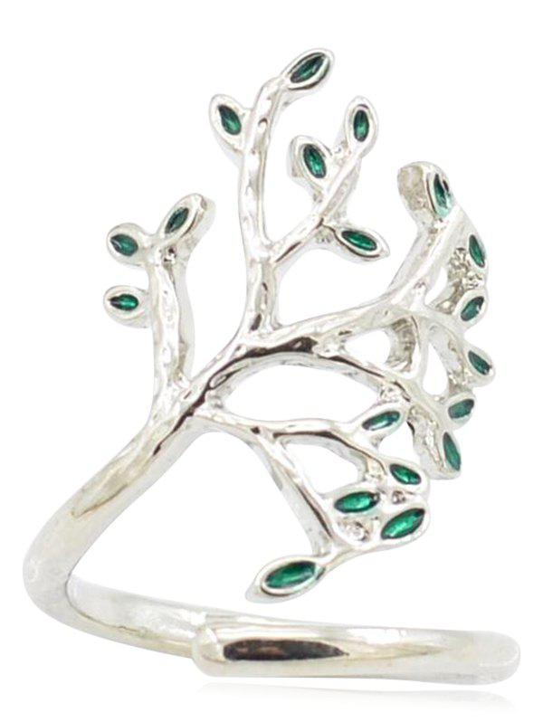 Latest Tree of Life Alloy Cuff Ring