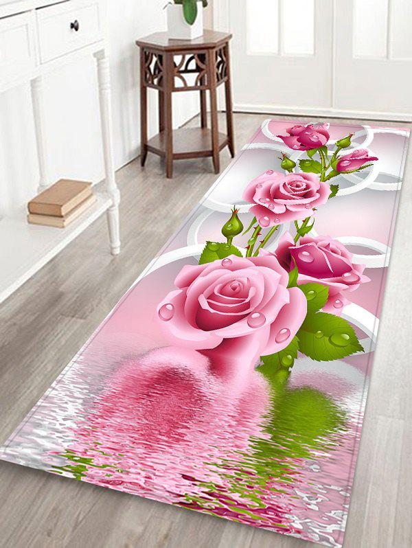 Cheap Flourishing Floral Pattern Indoor Outdoor Area Rug