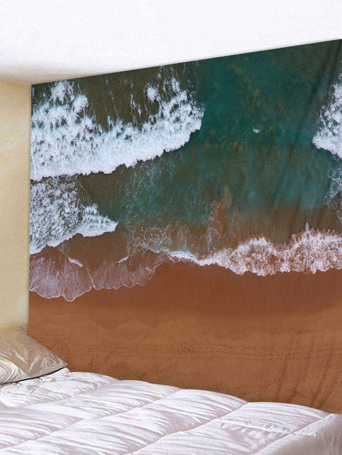 Unique Clay Seaside Pattern Wall Tapestry Decoration