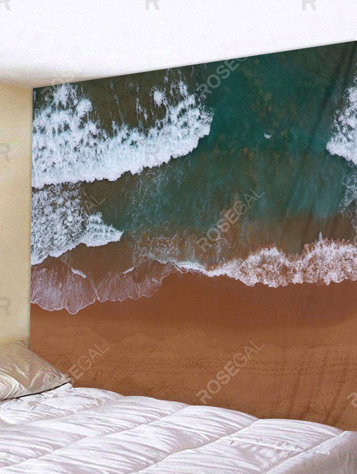 Chic Clay Seaside Pattern Wall Tapestry Decoration