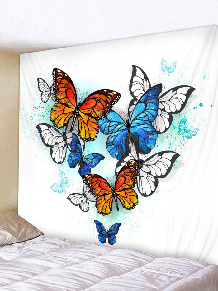 Shops Butterfly Pattern Wall Tapestry Hanging Decor