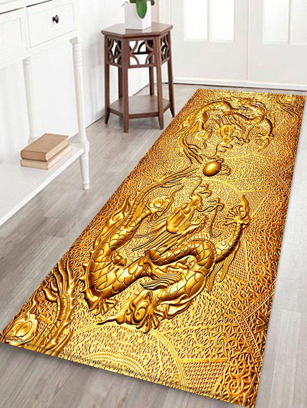 Best Chinese Dragon Design Flannel Area Rug