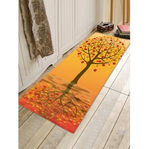 Tree Pattern Anti-skid Water Absorption Area Rug -