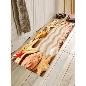 Tapis d'Absorption d'eau anti-dérapant de plage Starfish -