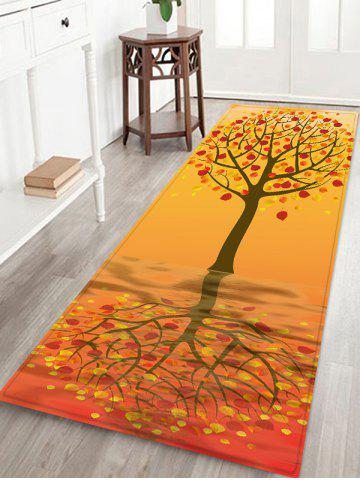 Cheap Tree Pattern Anti-skid Water Absorption Area Rug