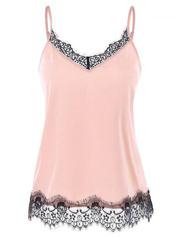 Cheap Lace Trim Slip Top