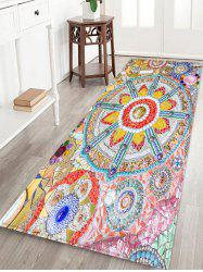 Bohemian Splicing Floral Indoor Outdoor Area Rug -