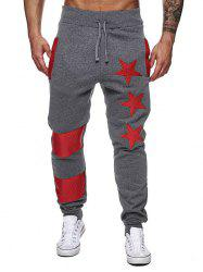 Pantalon Narrow Feet Contrast Color Star Jogger -