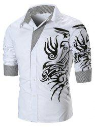Dragon Print Long Sleeve T-shirt -