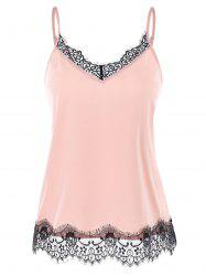 Lace Trim Slip Top -