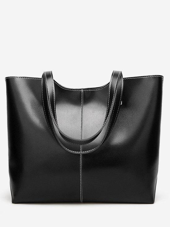 Best PU Leather Casual Large Capacity Tote Bag