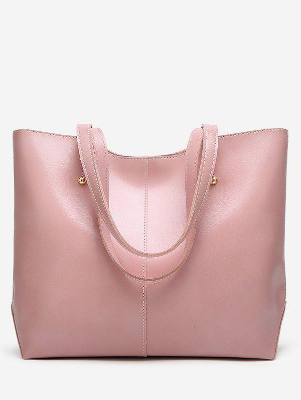 Affordable PU Leather Casual Large Capacity Tote Bag