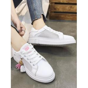 Leisure Outdoor Walking Lightweight Tassel Skate Shoes -