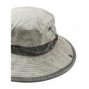 Cotton Washed Dyed Rope Fixing Bucket Hat -