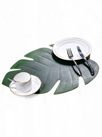 Hot Non-slip Oil-proof Tropical Leaf Placemat