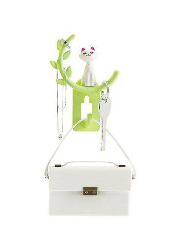 Online Cartoon Cat Removable Suction Cup Wall Hook Hanger