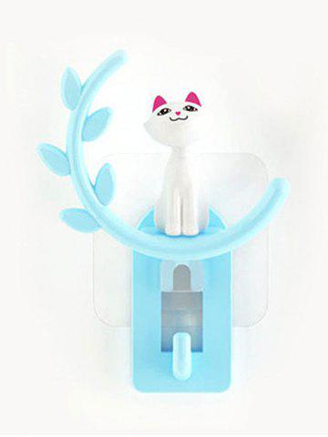Store Cartoon Cat Removable Suction Cup Wall Hook Hanger