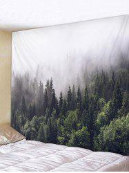Trees Smog Pattern Wall Tapestry Decoration -
