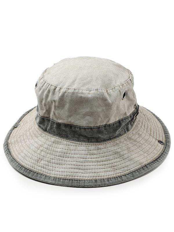 Outfit Cotton Washed Dyed Rope Fixing Bucket Hat
