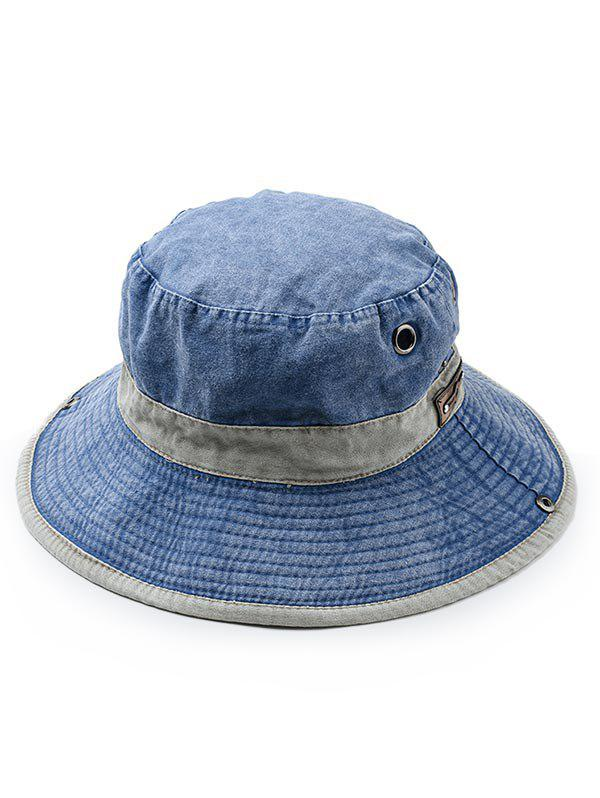 Unique Cotton Washed Dyed Rope Fixing Bucket Hat