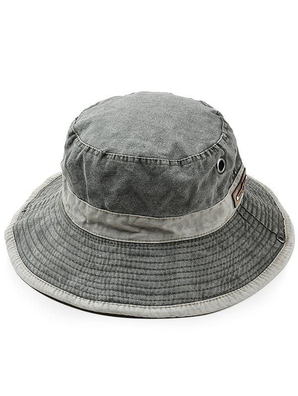 Online Cotton Washed Dyed Rope Fixing Bucket Hat