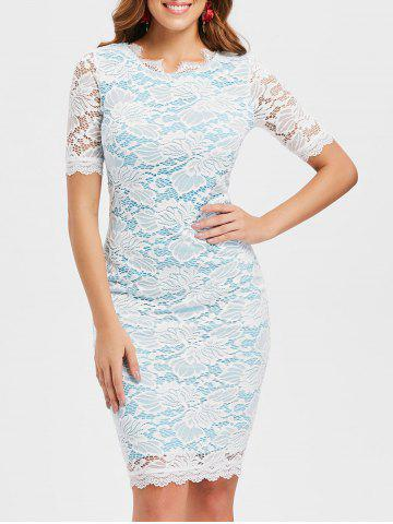 Discount Lace Work Dress