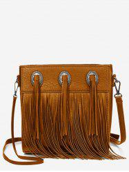 Retro Fringes Minimalist All Purpose Sling Bag -
