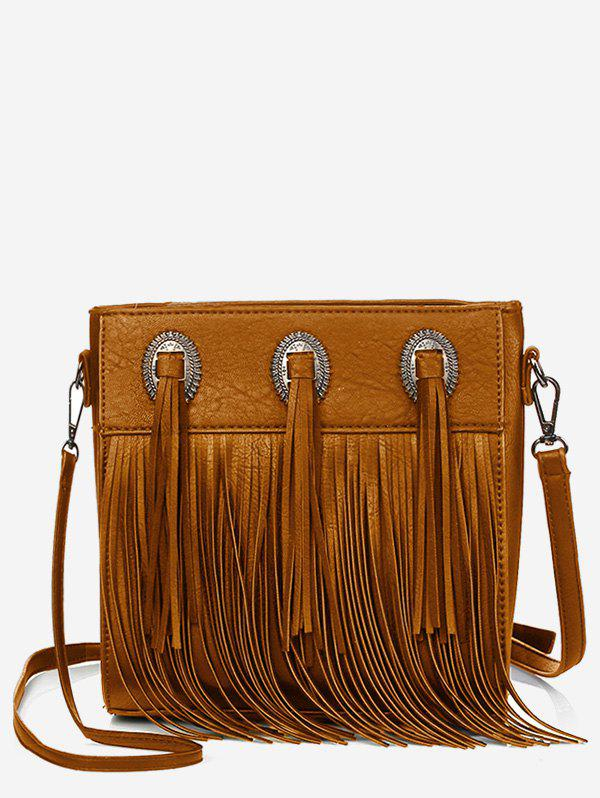 Fancy Retro Fringes Minimalist All Purpose Sling Bag