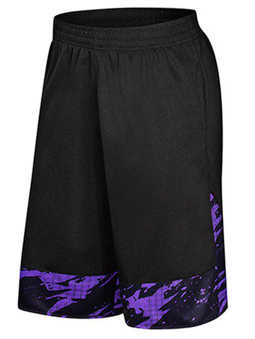 Online Two-pocket Casual Knee Length Gym Shorts