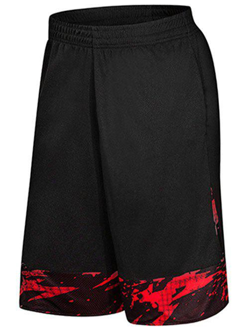 Fancy Two-pocket Casual Knee Length Gym Shorts